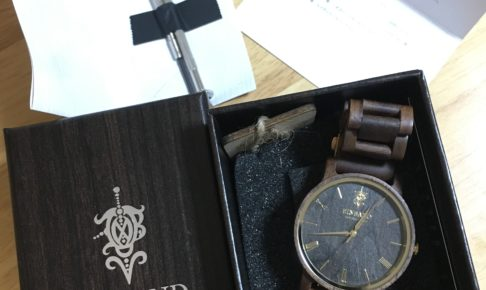EINBAND木製腕時計