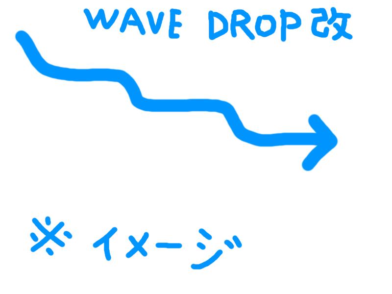 wave drop改