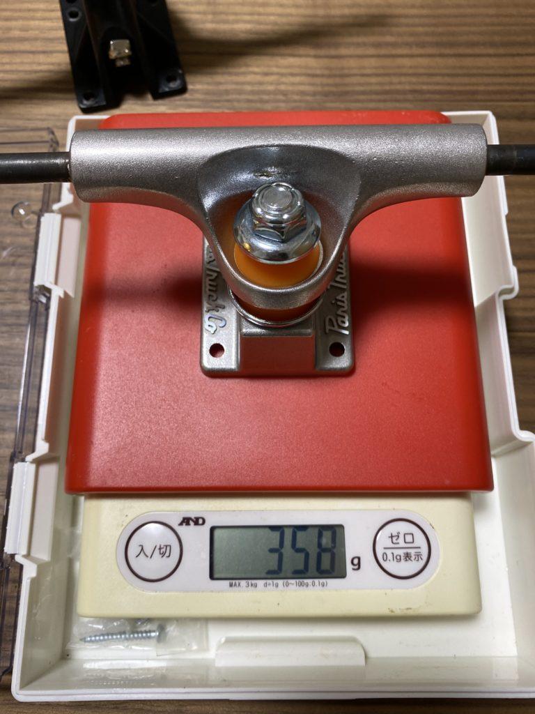 paris tkp 108 weight